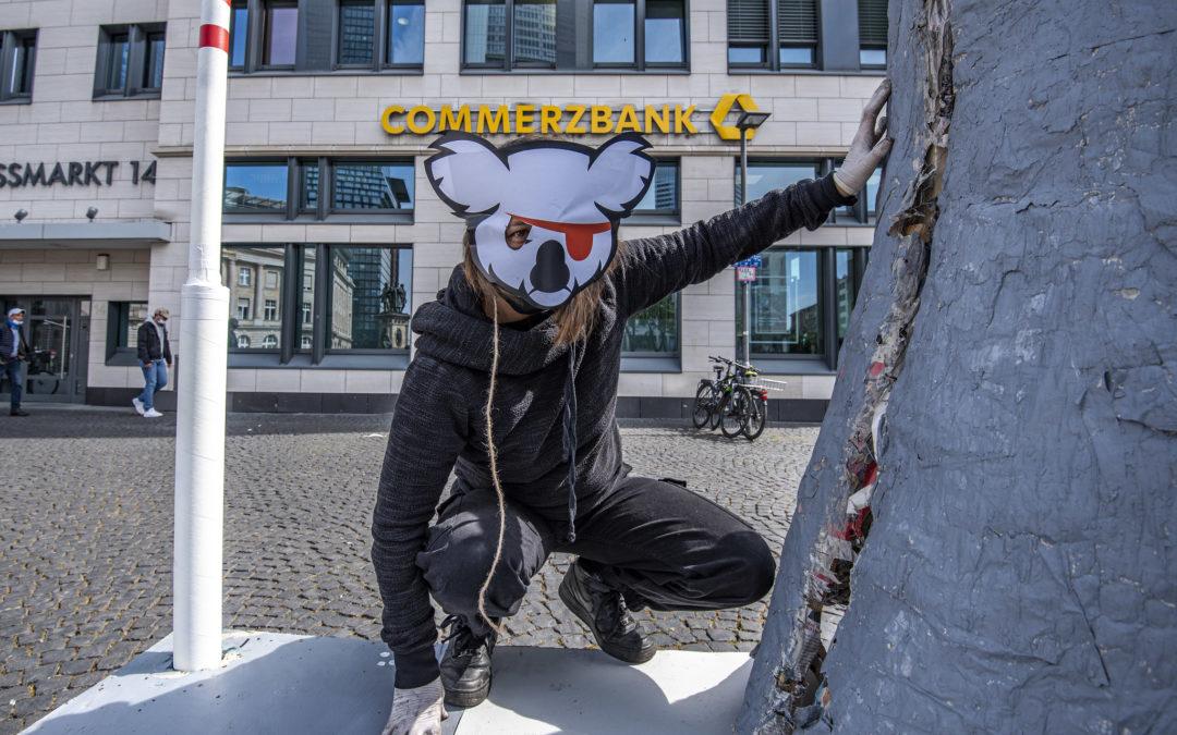 Unsere Aktion bei der Commerzbank – das steckt dahinter