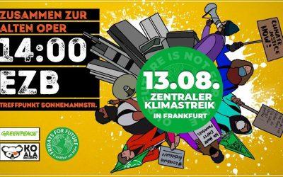 13.08. / Klimastreik in Frankfurt